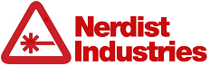 Nerdist Industries Logo - Red
