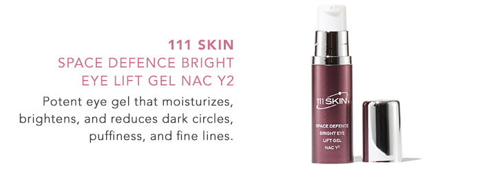 111 skinSpace Defence Bright Eye Lift Gel NAC Y2