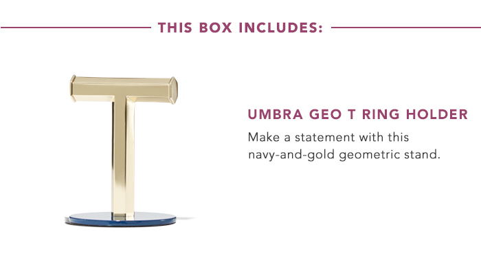 Umbra Geo T Ring Holder