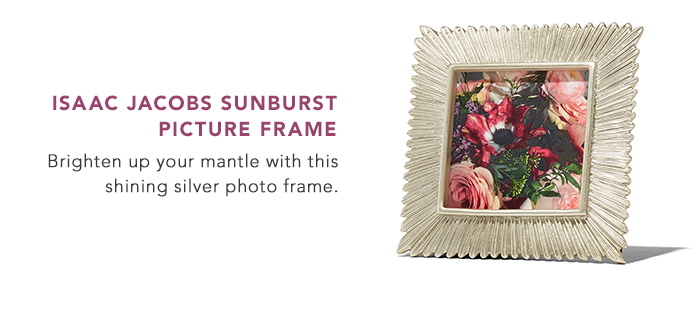 Isaac Jacobs Sunburst Picture Frame
