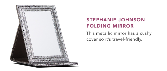 Stephanie Johnson Folding Mirror