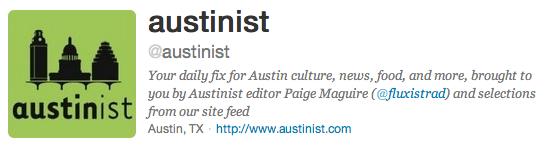 Austinist Bio