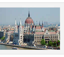 Fly R/T to Budapest
