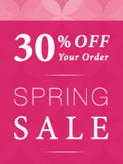30% Off Starts Today