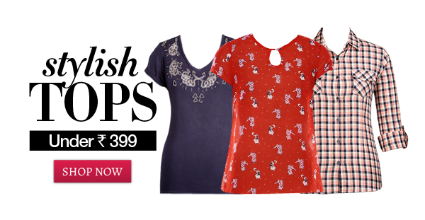stylish tops under rs 399