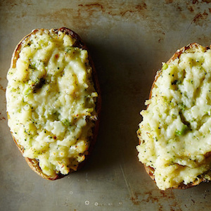 baked stuffed potatoes