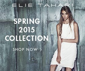 Elie Tahari Spring 2015 Collection