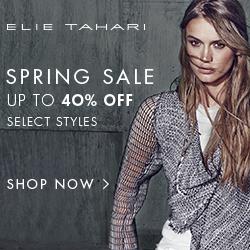 Elie Tahari Spring Sale 2015