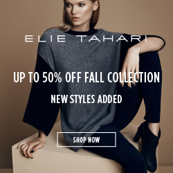 Up to 50% OFF New Markdowns on ElieTahari.com