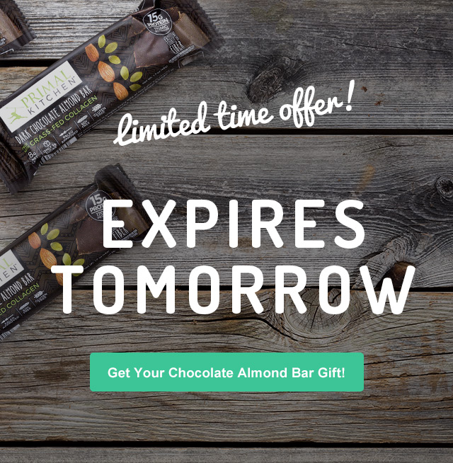 6 free gifts! you've got to try these chocolate-almond bars