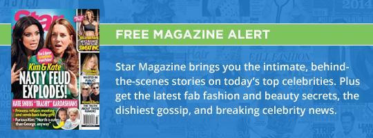 Free Magazine Alert: Star