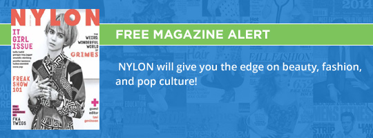 Free Magazine Alert: Nylon