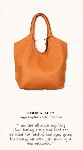 Jennifer Haley Sophisticated Shopper in Tan