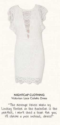 Nightcap Clothing Victorian Lace Caletto Dress in Ivory