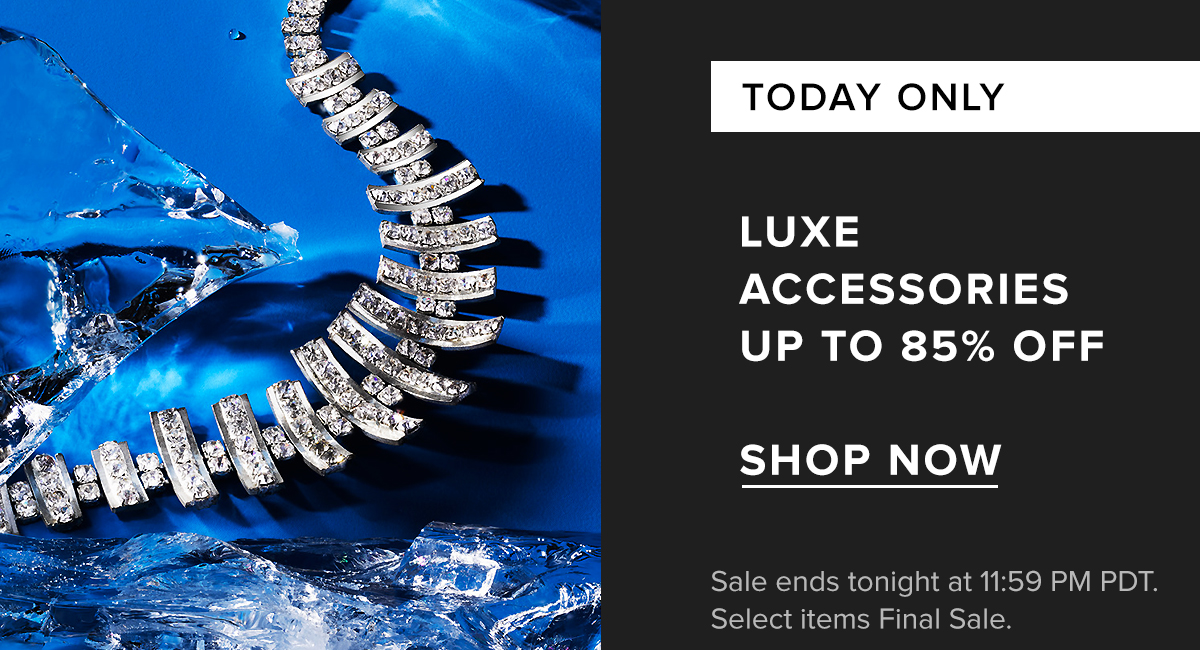 Luxe Accessories Sale