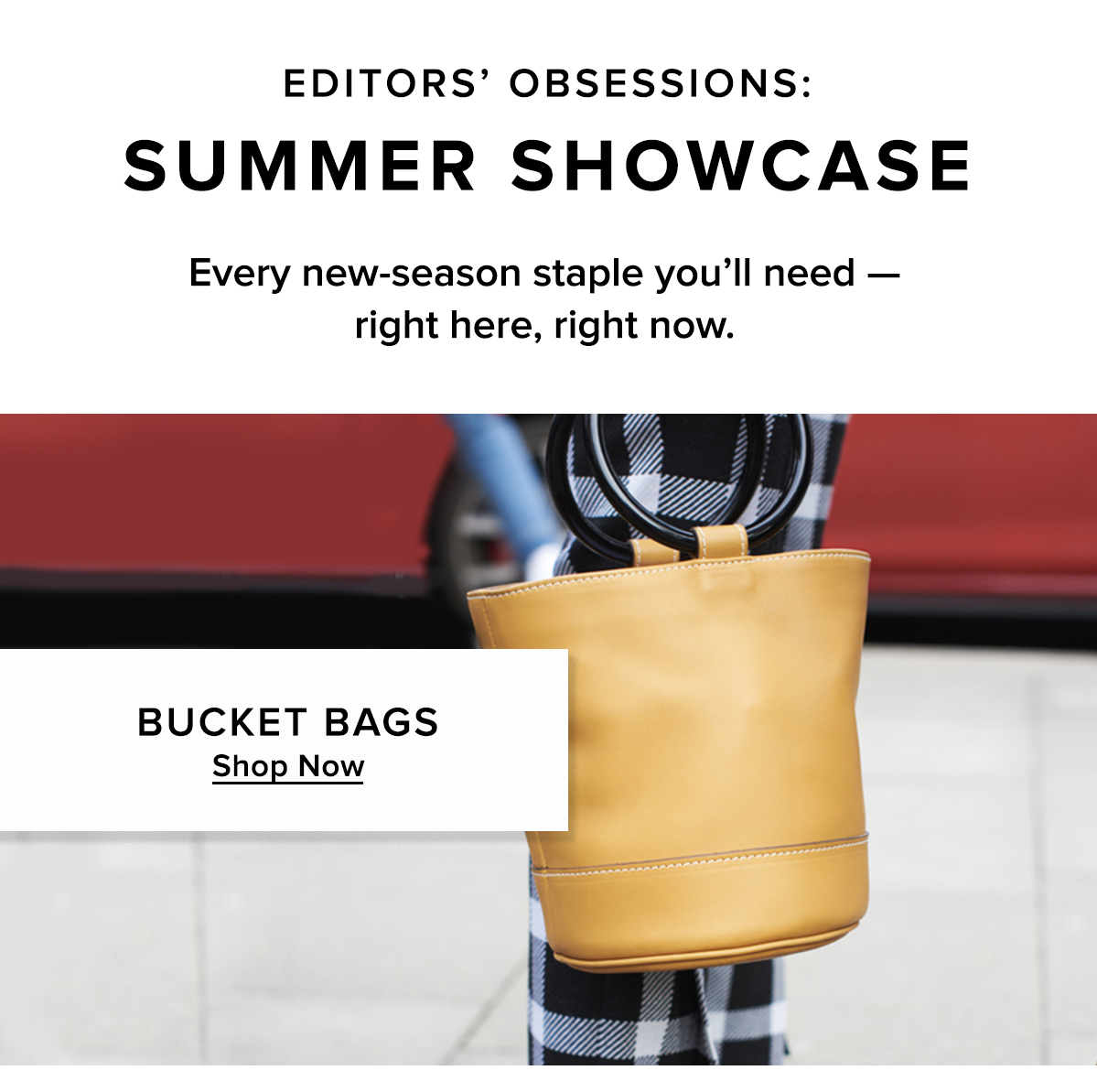 The Bucket Bag
