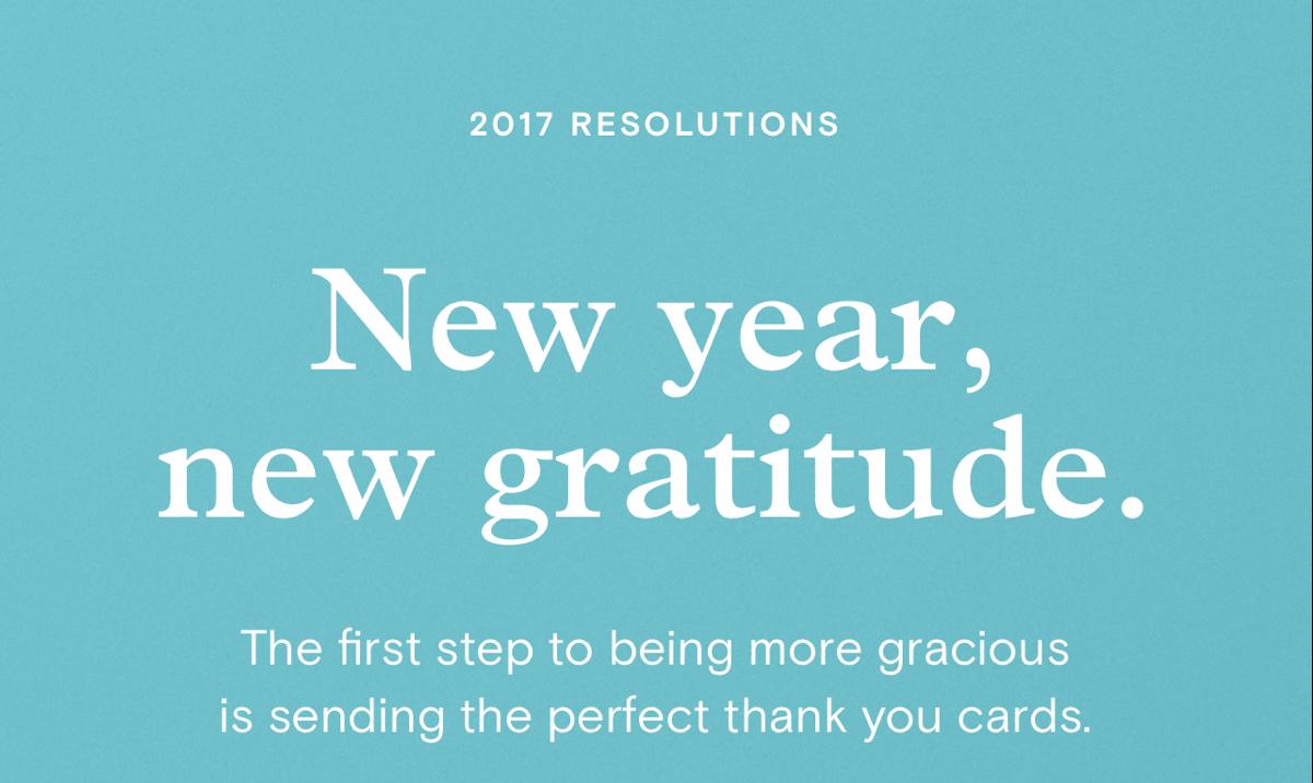 New year, new gratitude.