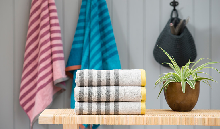 Sumptuous Striped Towels