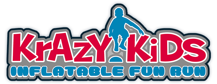 Krazy Kids Inflatable Fun Run Logo