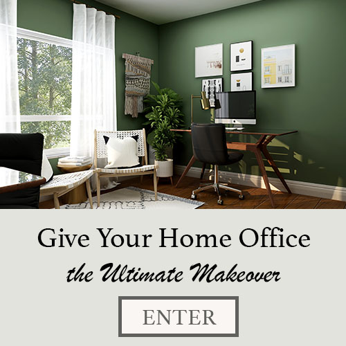 Win the Ultimate Home Office Makeover ($1,000+ of Amazing Prizes)!