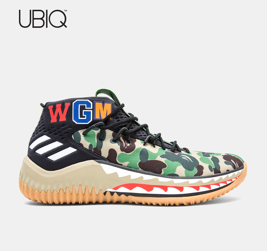 7322502020c8 Thank You for Entering the UBIQ Raffle for the. ADIDAS CONSORTIUM x BAPE  DAME 4. To complete your entry