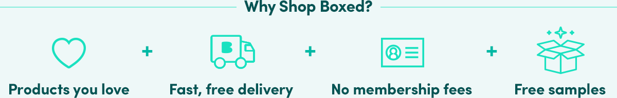 Why Shop Boxed?