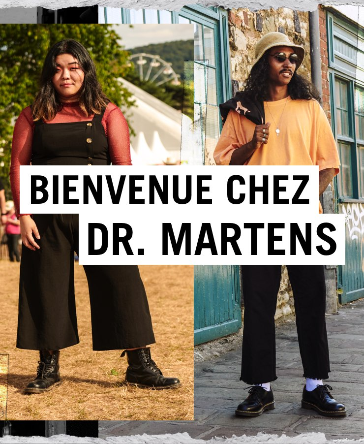 BIENVENUE CHEZ DR. MARTENS