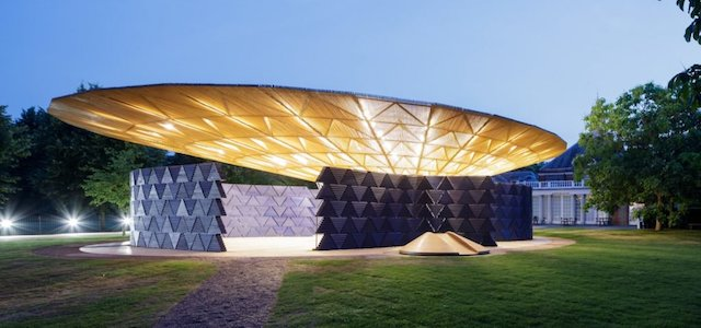 In Tribute to Trees, This Year's Serpentine Pavilion Helps Irrigate London's Hyde Park