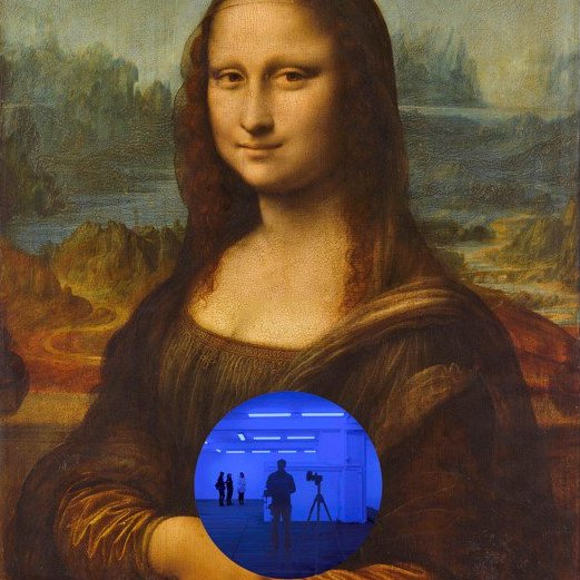 Why Jeff Koons's Blue 'Gazing Balls' Give Mona Lisa Something New to Smirk About