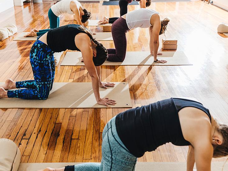 5 Gentle Yoga Poses for Menopause Symptom Relief