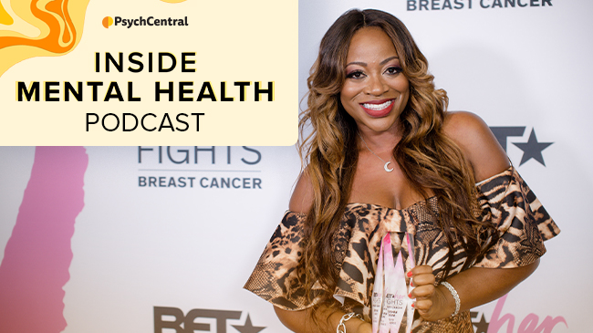 PsychCentral   Breast Cancer and Mental Health with RHONY Star Bershan Shaw   Hosted by Gabe Howard