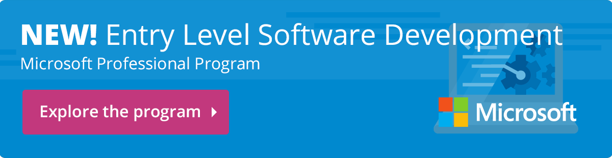 NEW! Entry Level Software Development