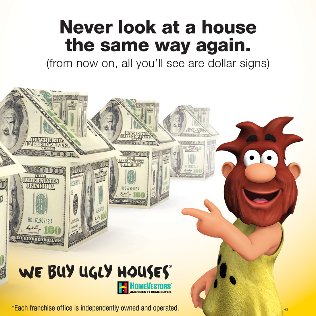 Join America's #1 home buyer, the only national home buying franchise, HomeVestors®