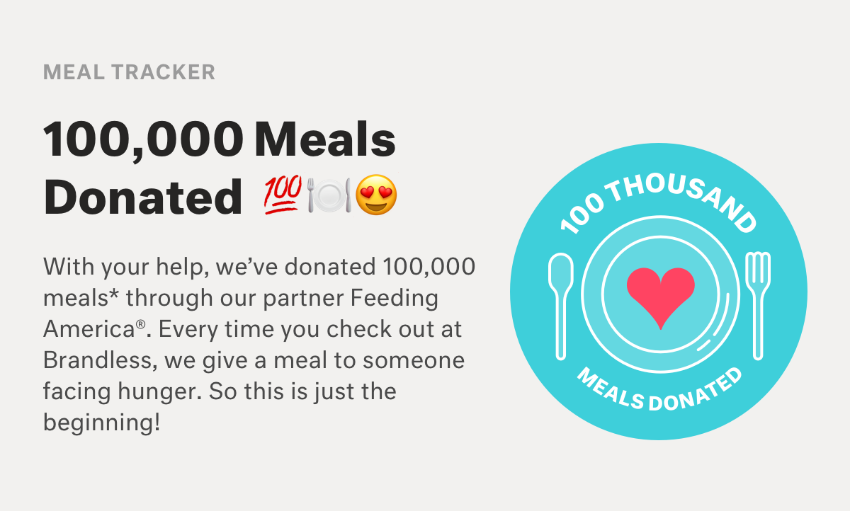 meals donated