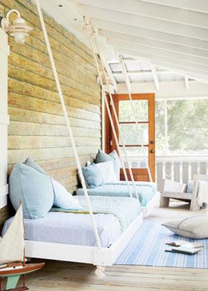 Couch glider veranda porch