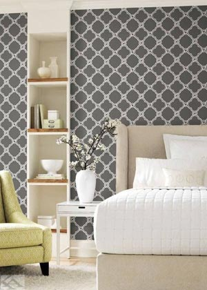 black lattice wallpaper black geometric wallpaper ashford house AP7490