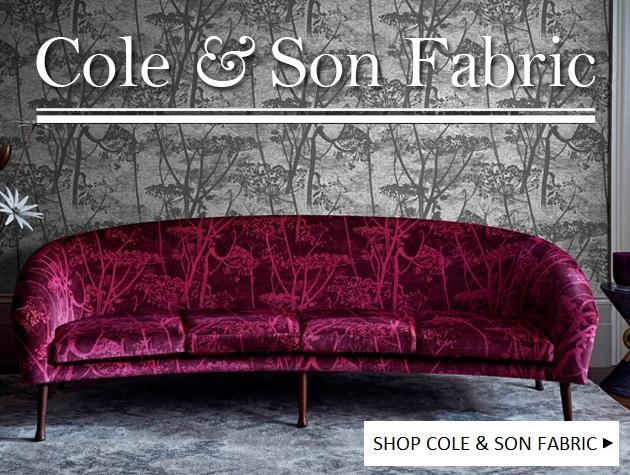 SHOP COLE & SON FABRIC