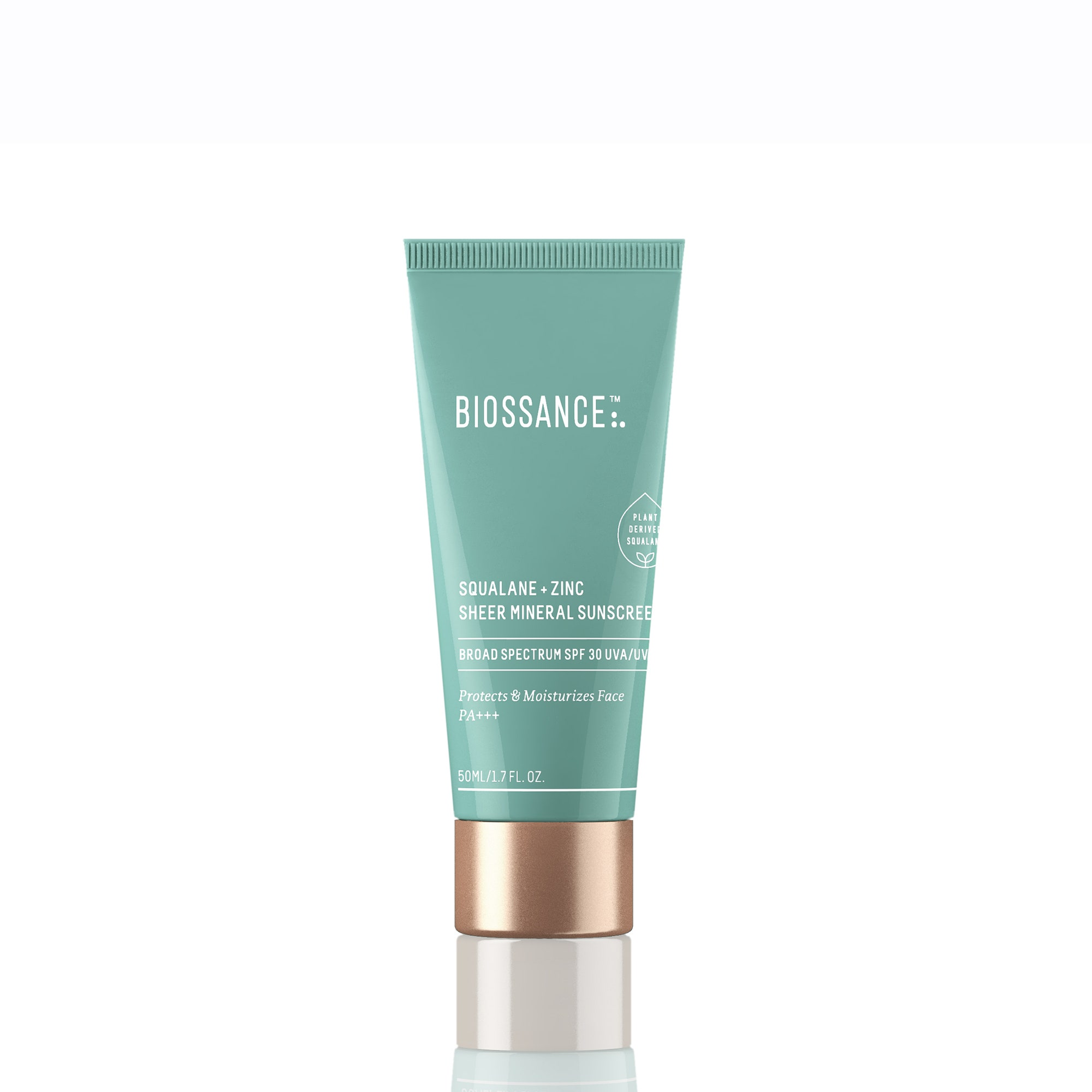 Biossance Squalane + Zinc Sheer Mineral Sunscreen