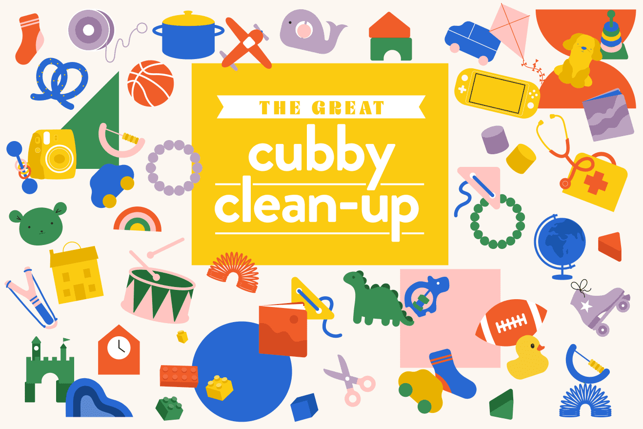 The Great Cubby Clean-Up: 4 Weeks and 4 Easy Steps to a Fresh Start for Your Family