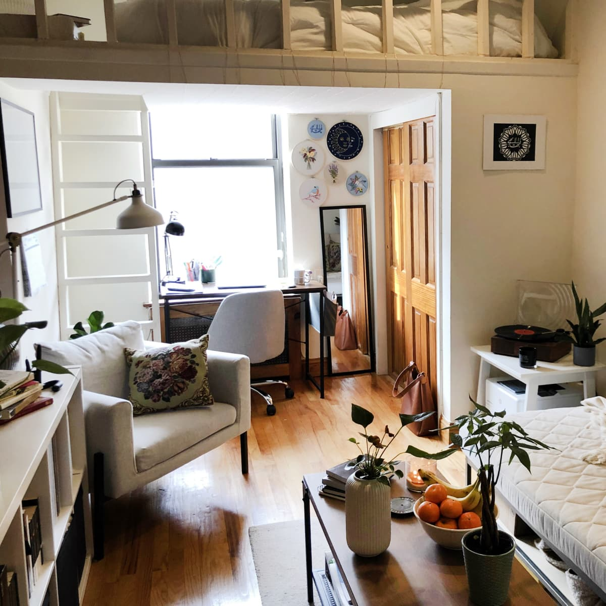 A 350-Square-Foot NYC Studio Apartment Feels Larger Thanks to a Good Layout