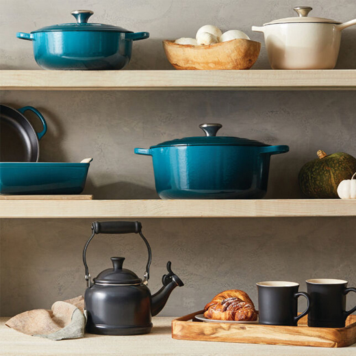Le Creuset's Latest Sale Includes Their Most Popular Cookware and Bakeware, Starting at $12
