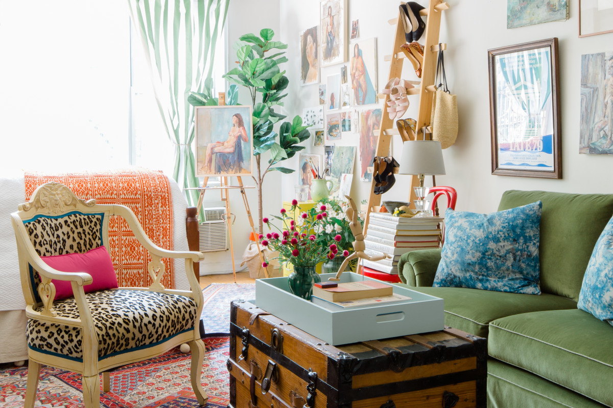 This Artist Has Maximized Every Inch of Her 350-Square-Foot NYC Studio Apartment