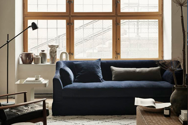 An Easy, Affordable Way to Give Your IKEA Sofa a Whole New Look (Partner)