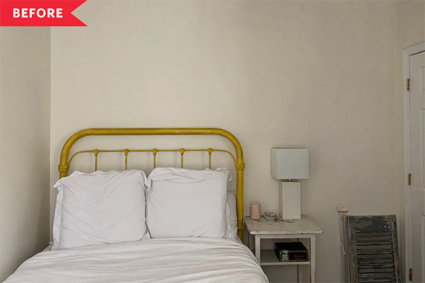 Before and After: A Colorful $700 Redo Made My Rental Bedroom Feel Like Home