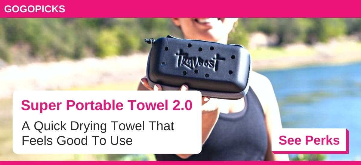 Super Portable Towel 2.0: Towel that Hugs You Back — See Perks