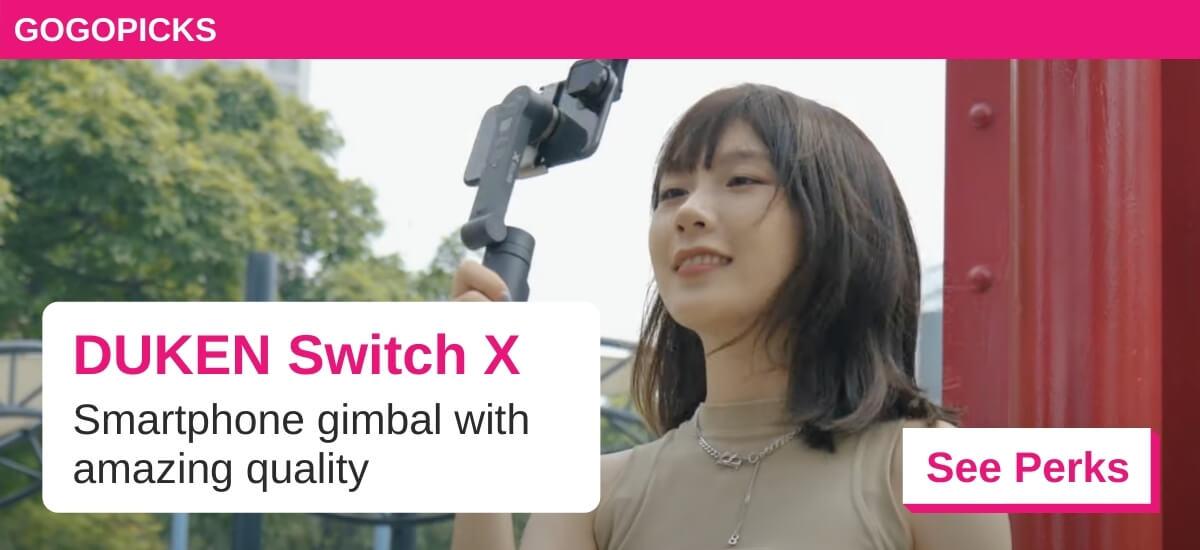DUKEN Switch X Smart Phone Gimbal — See Perks
