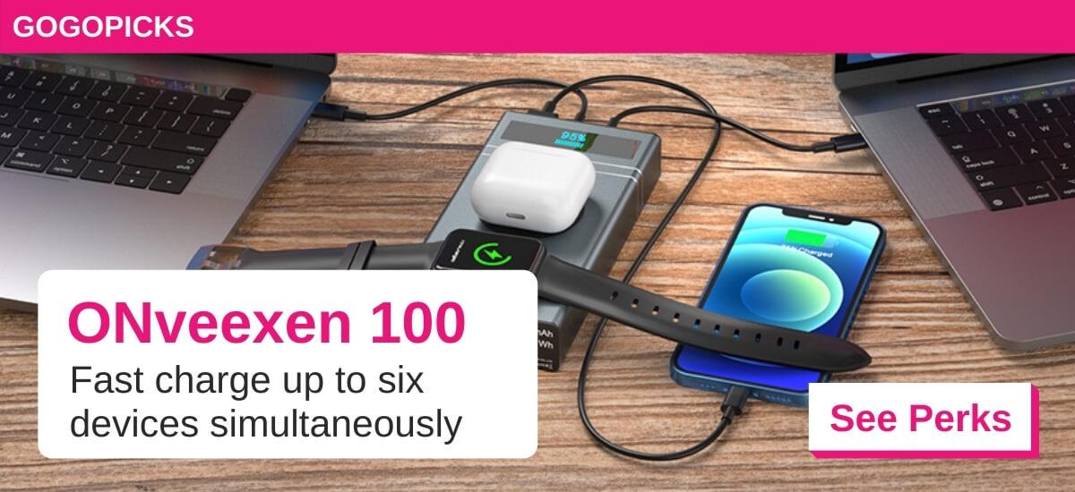 ONveexen 100 — World's Super Fastest 265W Powerbank — See Perks
