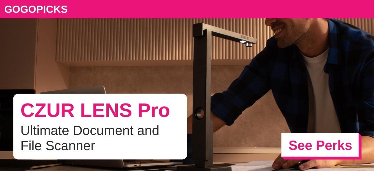 CZUR LENS Pro - Ultimate Document & File Scanner — See Perks