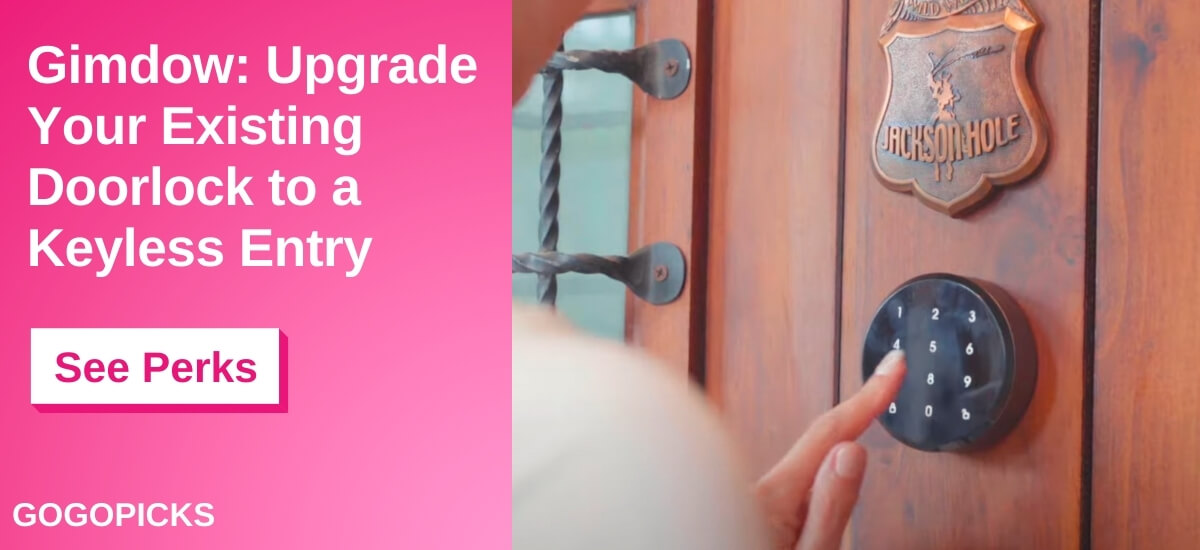 Gimdow: Upgrade to Keyless Smart Lock in Seconds — See Perks