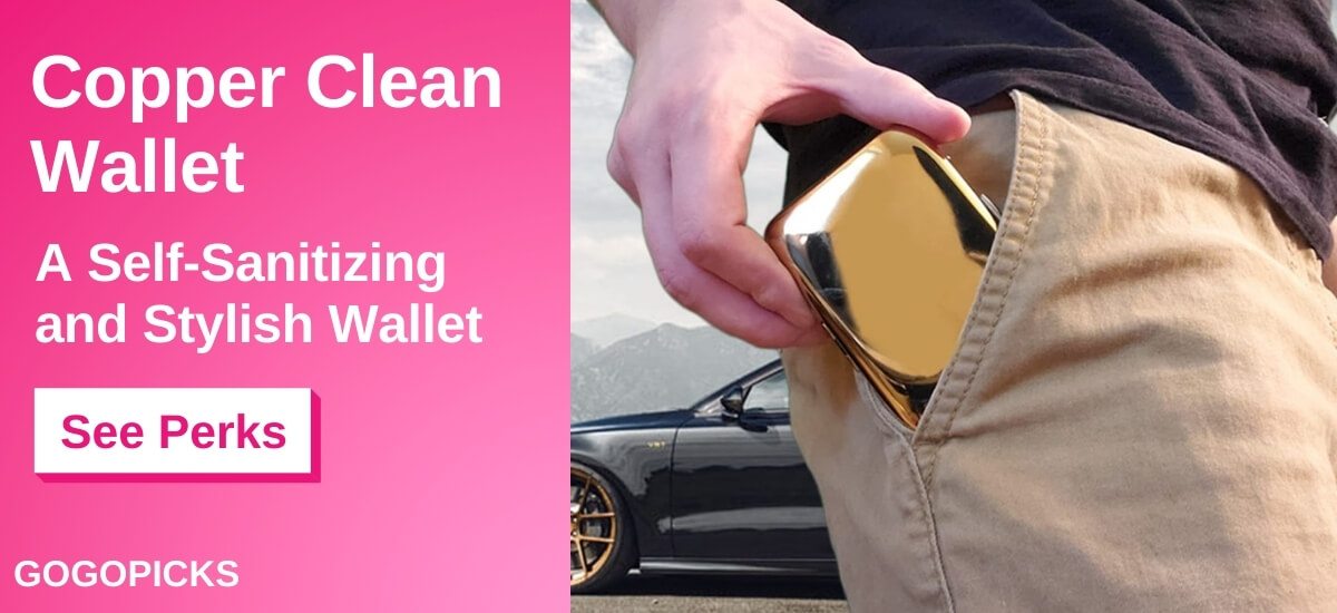 Copper Clean Wallet: An Antimicrobial Wallet  — See Perks